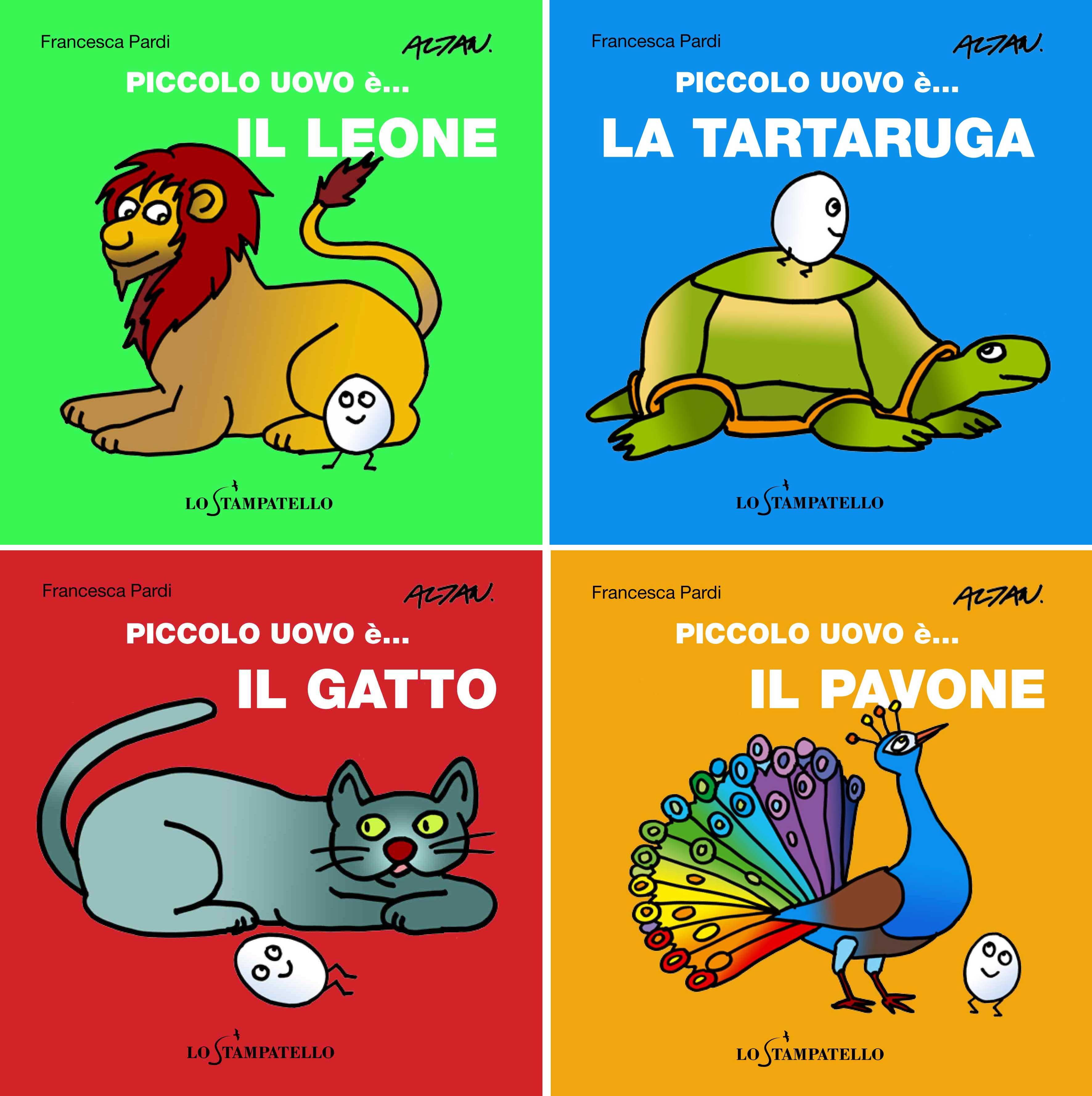 Collana PICCOLO UOVO è... di Francesca Pardi, illustrazioni di Altan