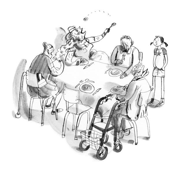 """Annet Shaap - da """"La nonna in fuga"""" di Janneke Schotveld (3)"""