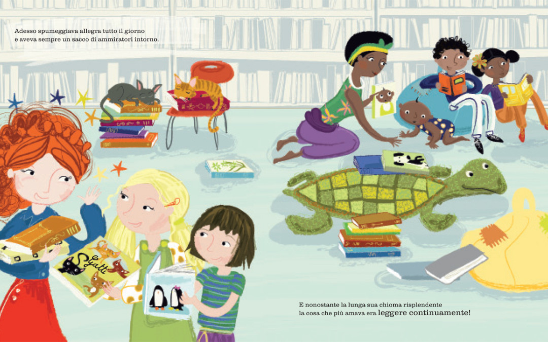 """Rebecca Ashdown - da  """"La principessa salvata dai libri"""" di Wendy Meddour (2)"""