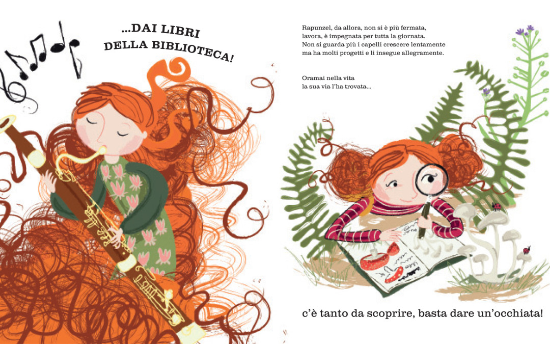 """Rebecca Ashdown - da  """"La principessa salvata dai libri"""" di Wendy Meddour (1)"""