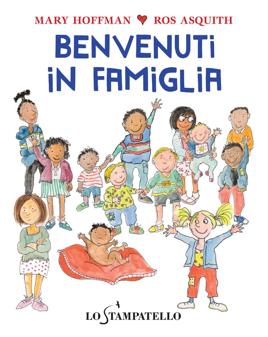 BENVENUTI IN FAMIGLIA di Mary Hoffman - Lo Stampatello