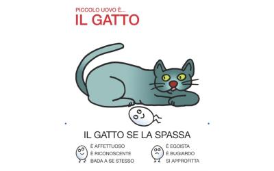Il gatto rappresenta l'autonomia: la capacità di stare bene, di cavarsela e di condividere le gioie. Ma anche il desiderio di avere tutto per se, la tendenza ad ingannare e a pensare solo a se stessi.